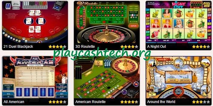Cash and Free Playtech Gambling